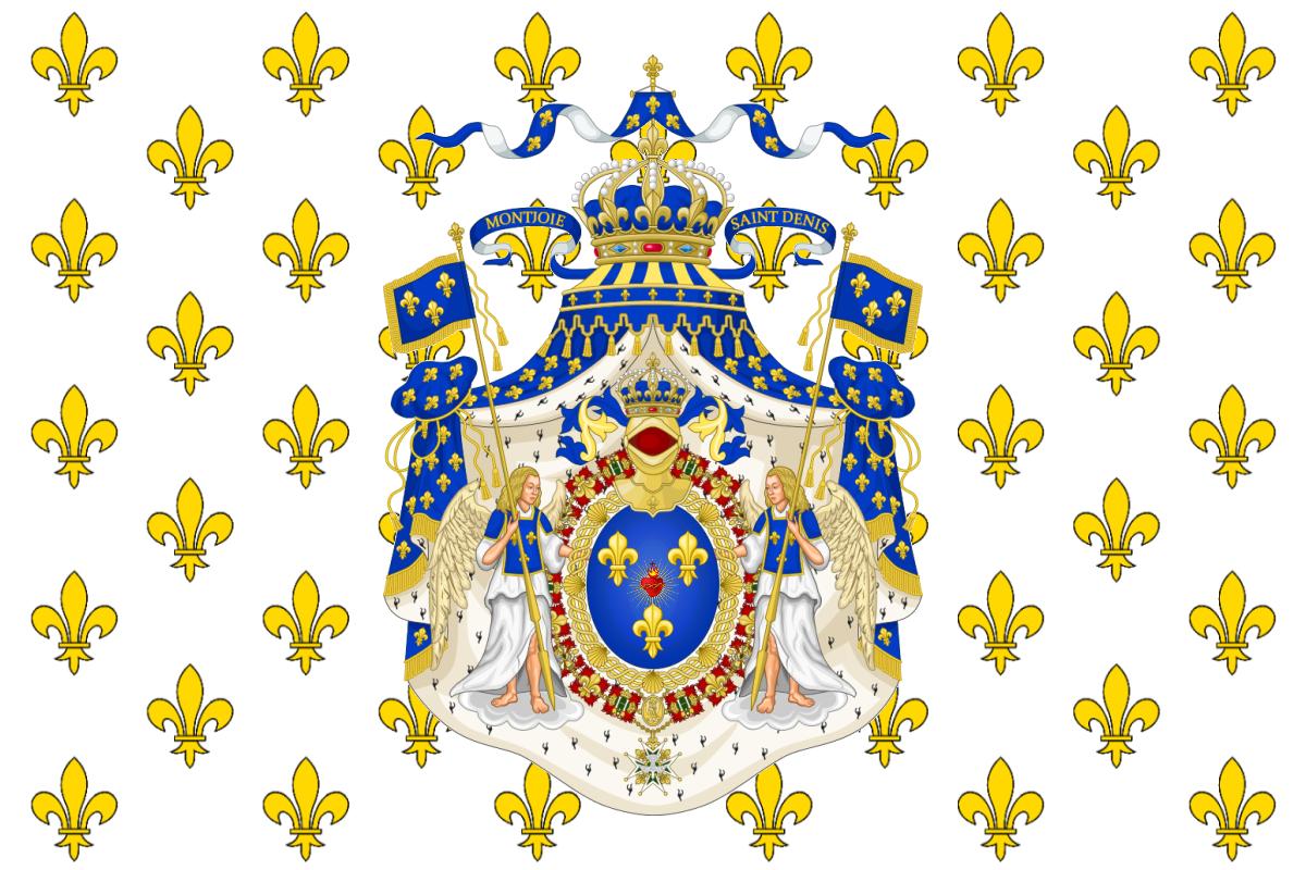 """Résultat de recherche d'images pour """"drapeau blanc royal"""""""