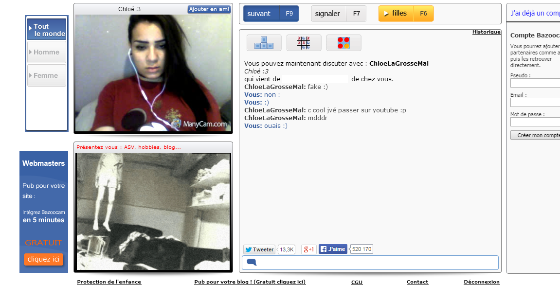sex video omegle numero meetic