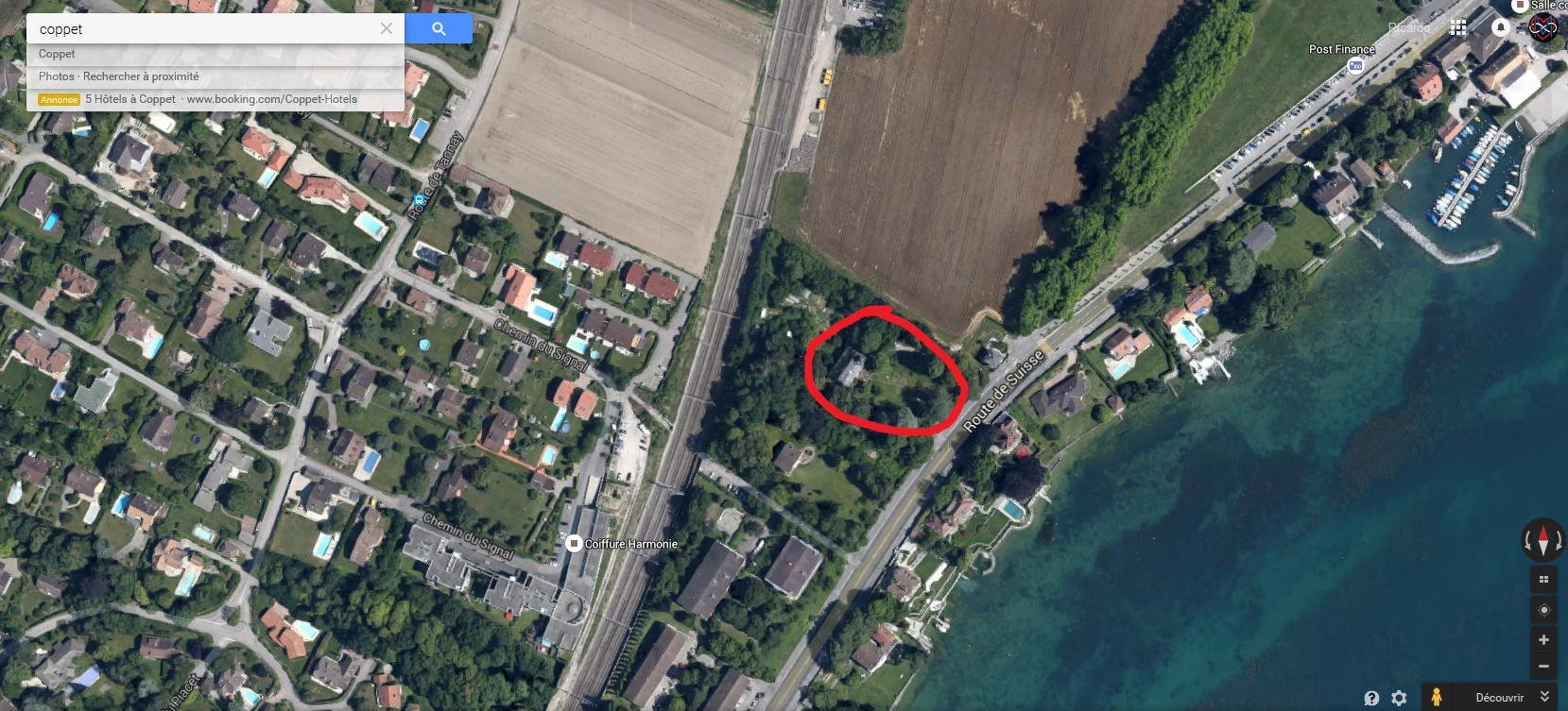 Batiments et lieux abandonn suisse et france voisine sur for Acheter maison france voisine geneve