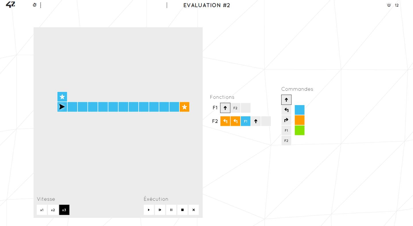 ecole 42 epreuve 2 niveau 12 sur le forum programmation