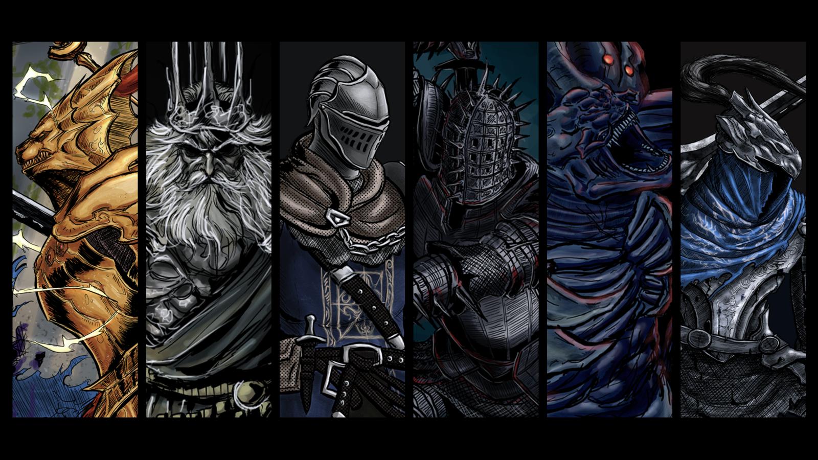 Wallpapers sur le forum Dark Souls