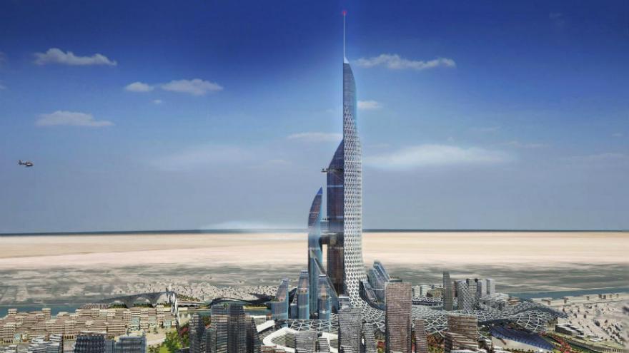 La plus haute tour du monde construite en irak sur le forum blabla 18 25 ans - Projet tour la plus haute du monde ...