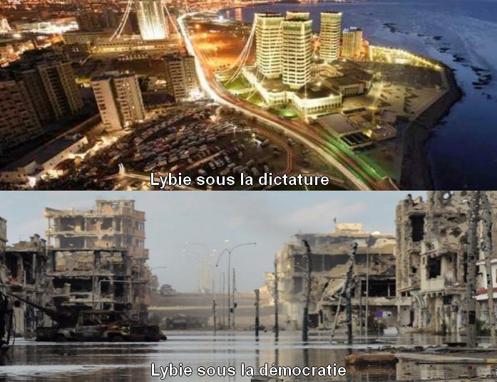 """Résultat de recherche d'images pour """"libye au temps de kadhafi avant apres"""""""