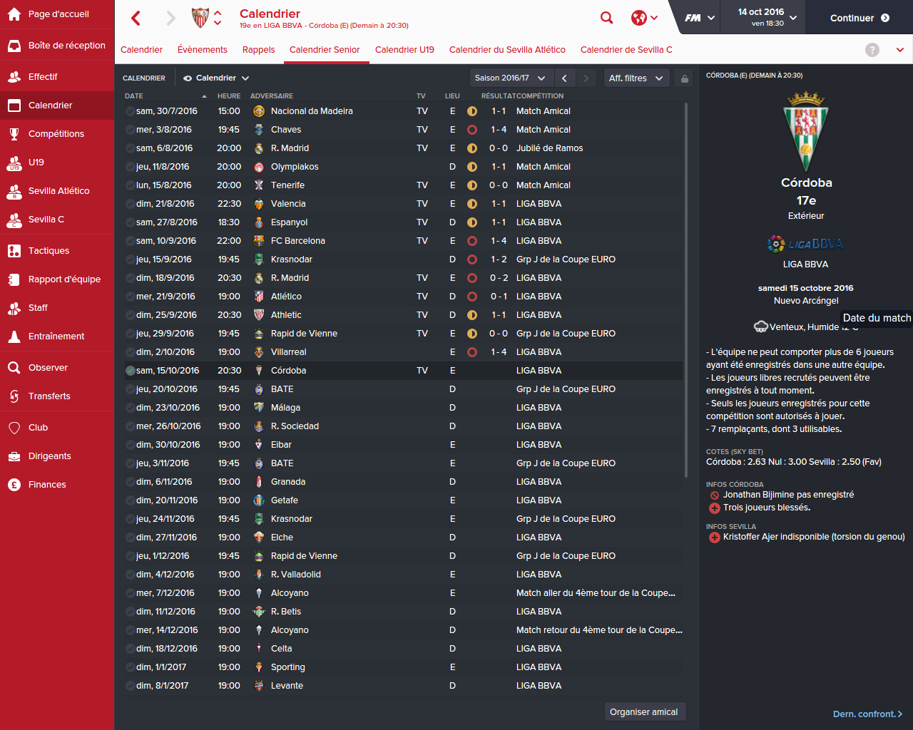 forum foot manager 2016