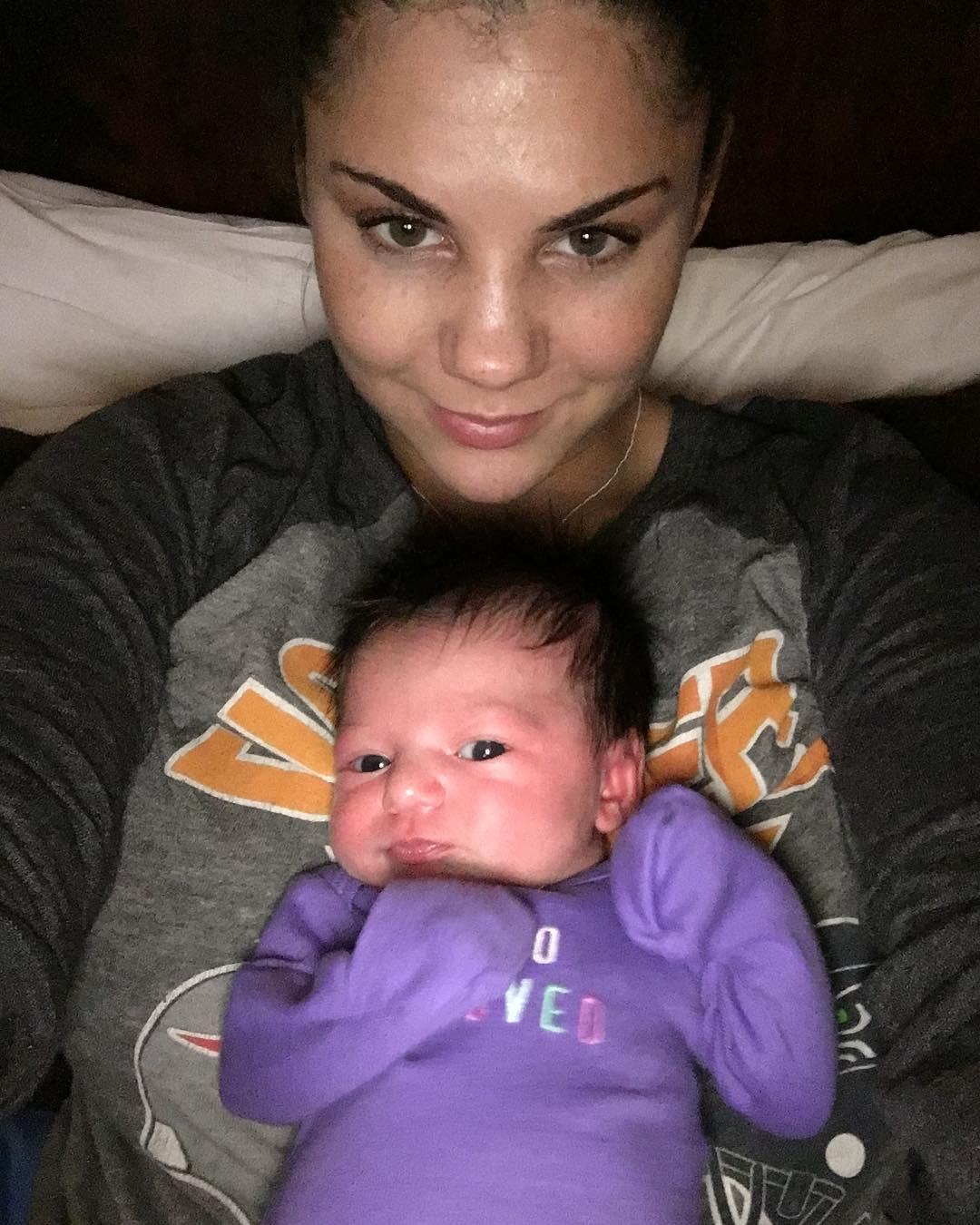 photo) bonnie rotten avec sa fille de 3 mois sur le forum blabla 18