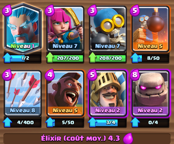 id e deck wizard sur le forum clash royale 22 04 2016