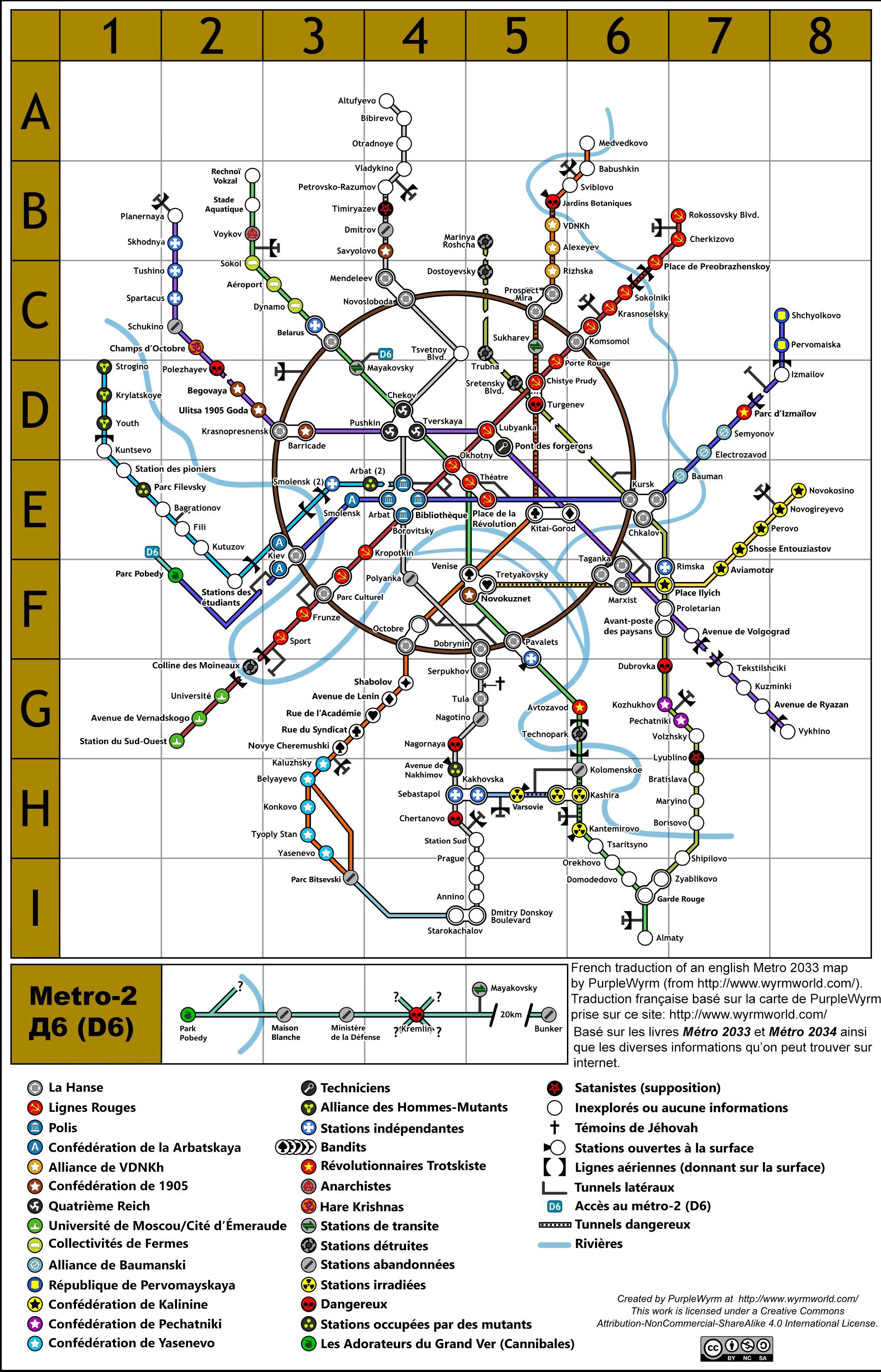 Wikia de l'Univers de Métro | Besoin d'aide sur le forum Metro