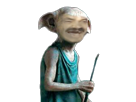 Sticker risitas dobby harrypotter elfe