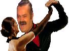 Sticker danse risitas femme salsa tango