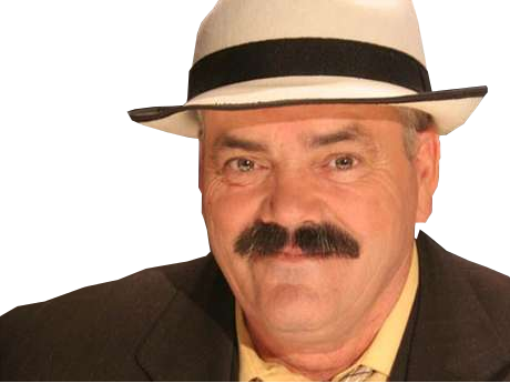Sticker risitas sourire chapeau