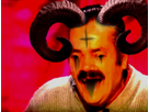 Sticker demon risitas diable satan