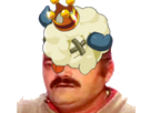 Sticker risitas dofus bouftou
