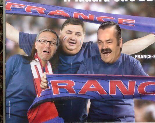 Sticker foot france football menes ruquier