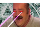 Sticker risitas laser illuminati