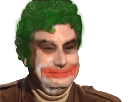 Sticker batman joker peur