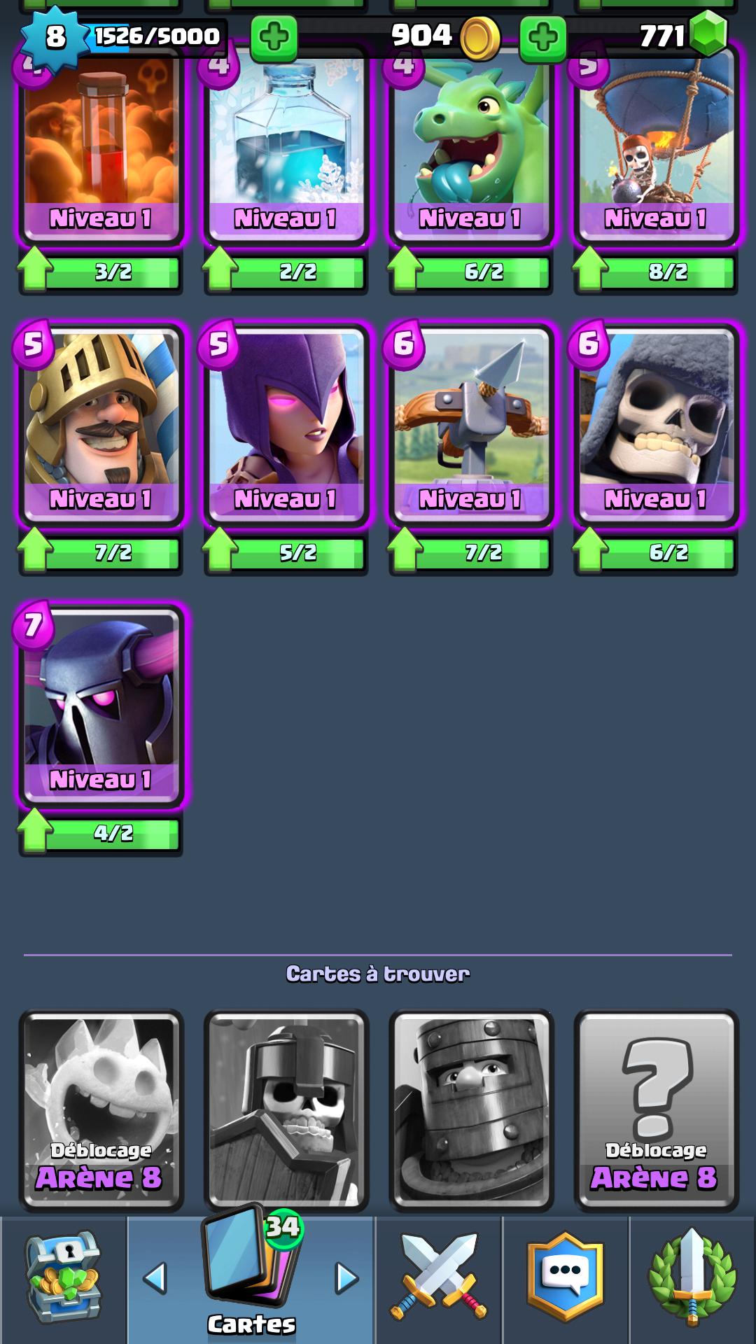 Ar ne 6 7 que changer dans ce deck sur le forum clash for Deck arene 6 miroir