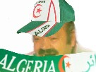 Sticker risitas algerien supporter