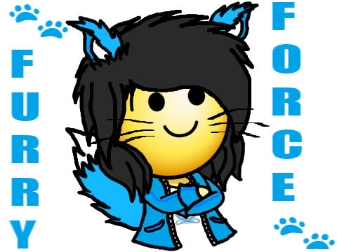 Sticker hap furry tinnova force