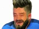 Sticker olivier giroud football edf risitas bleu footballeur