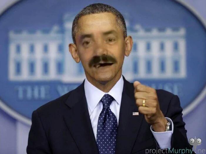 Sticker obama president
