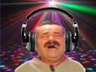 Sticker dj casque musique