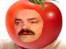 Sticker risitas tomate