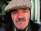 Sticker pleure triste larme malheureux
