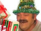Sticker risitas noel cadeau ouvre cadeau