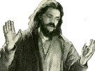 Sticker jesus dieu catholique parole