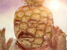 Sticker risitas ananas