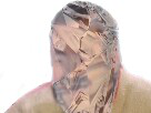Sticker risitas brise verre wtf