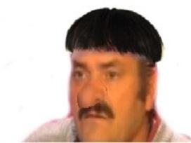 Sticker godefroy jaqouille visiteur gros nez pif coupe de merde gerard depardieu