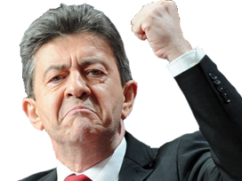 Sticker melenchon fier force