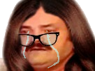 Sticker femme femen pleure triste feminazi