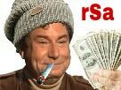 Sticker jesus rsa billets