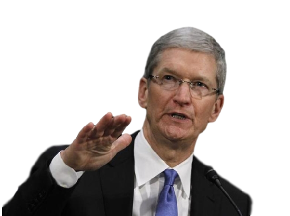 Sticker tim cook apple iphone ipad mac osx ios pigeon rire mdr lol ipigeon macbook 4 4s 5 5s 5c 6 6s 7 plus pomme ipomme keynote