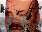 Sticker risitas soldat vietnam armee guerre veteran souvenir flash back pleure triste