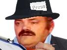Sticker reporter bfm esclave risitas