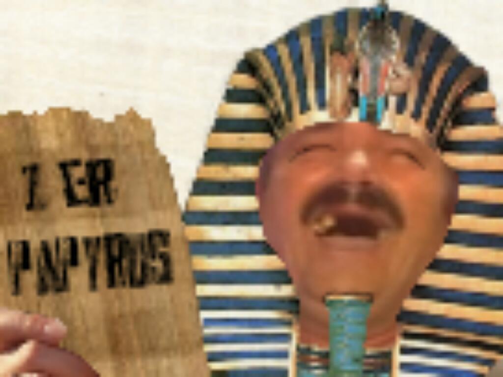 Sticker papyrus firstpage premier premiere page