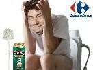Sticker jesus quintero toilettes biere dechet worthlessloser jvc forumeur