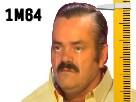 Sticker risitas jvc forumeur chemise jaune petit nain