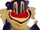 Sticker flucnhy malaise flunch sourire sarcasme
