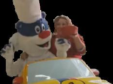 Sticker flucnhy malaise flunch voiture