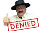 Sticker risitas denied