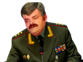 Sticker general russe risitas russie staline armee rouge armee general