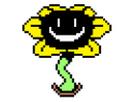 Sticker flowey undertale fleur