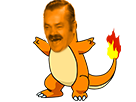 Sticker risitas pokemon salameche 004