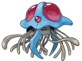 Sticker pokemon tentacruel risitas