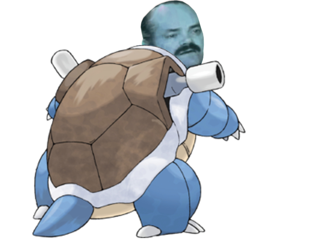 Sticker risitas pokemon 009 tortank