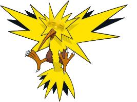 Sticker pokemon electhor risitas